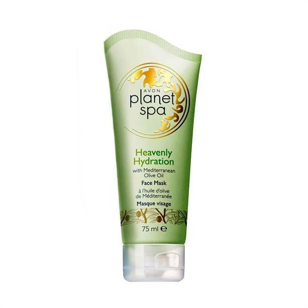 Avon Hydratační pleťová maska s olivovým olejem Planet Spa (Face Mask Heavenly Hydration with Mediterranean Olive Oil) 75 ml
