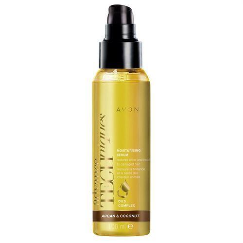 Avon Hydratační sérum na vlasy s arganovým a kokosovým olejem 100 ml