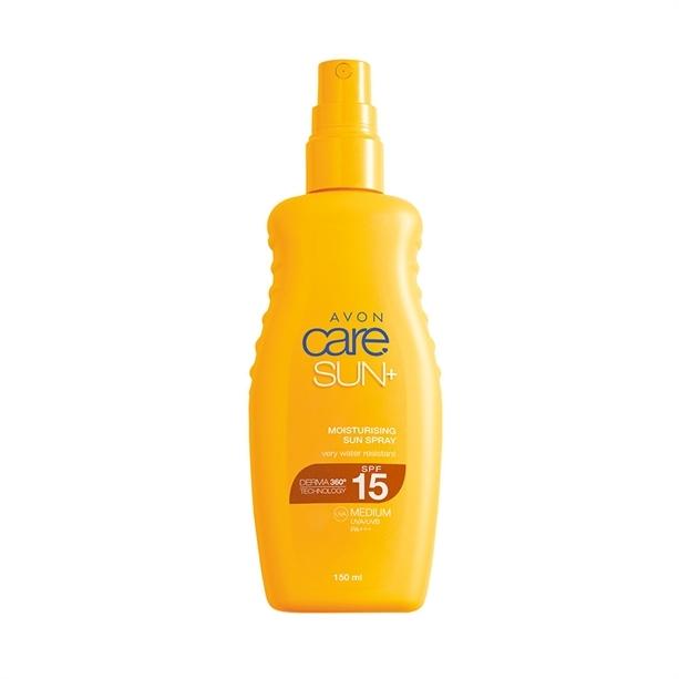 Avon Hydratační voděodolný sprej na opalování SPF 15 (Moisturising Sun Spray) 150 ml