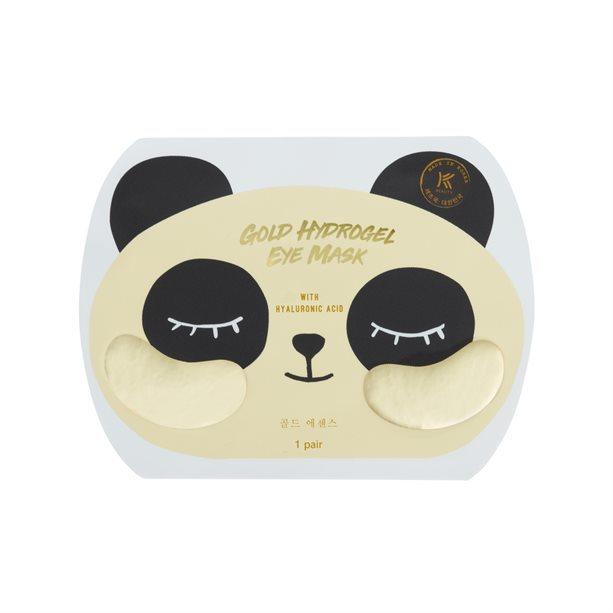 Avon Hydrogelová maska na oční okolí s kyselinou hyaluronovou (Gold Hydrogel Eye Mask) 1 ks