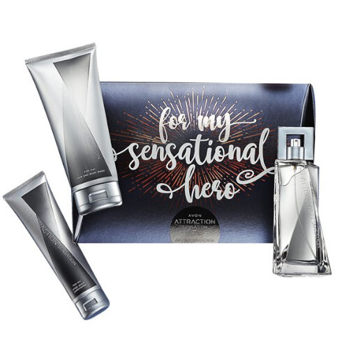 Avon Kozmetická sada Attraction Sensation For Him