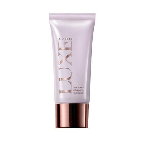 Avon Make-up Cashmere Indulgence Luxe SPF 10 30 ml - SLEVA - pomačkaná krabička Beige Linen