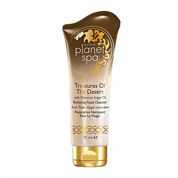 Avon Obnovujúci čistiaci pleťový krém s marockým arganovým olejom Planet Spa (Restoring Facial Cleanser) 75 ml