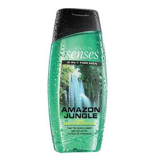 Avon Senses Amazon Jungle sprchový gel 250 ml