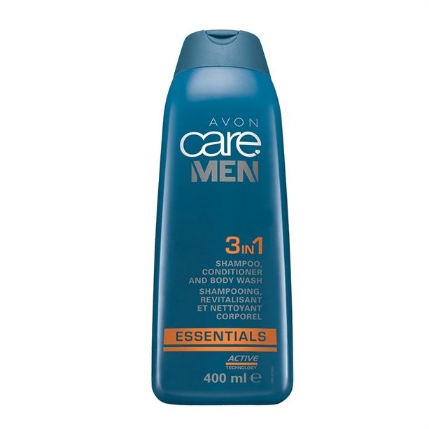 Avon Gel de duș, (Shampoo, Conditioner And Body Wash) 400 ml