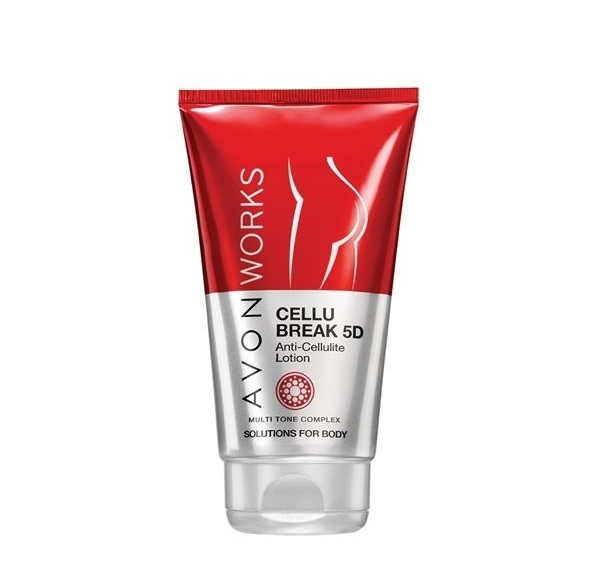 Avon Tělové mléko proti celulitidě s komplexem Multi Tone Avon Works (Cellu Break 5D Anti-Cellulite Lotion) 150 ml