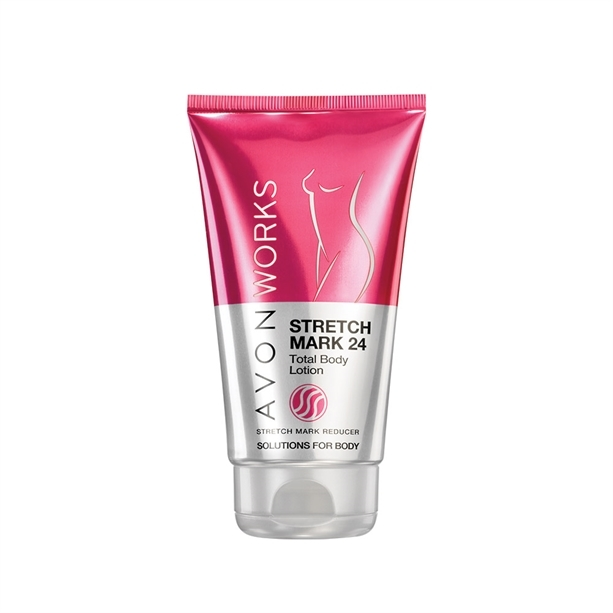Avon Tělo vé mlieko proti striám s komplexom Elastín Boost Avon Works (Line Reducing Lotion) 150 ml