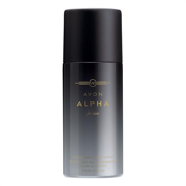 Avon Tělový sprej Alpha (Body Spray) 150 ml