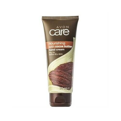 Avon Vyživující krém na ruce a nehty s kakaovým máslem a vitaminem E Care (Hand Nail Cuticle Cream) 75 ml