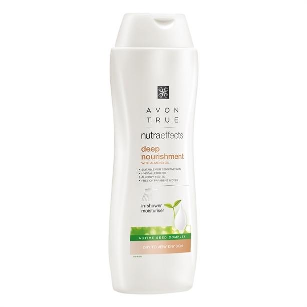 Avon Vyživující tělové mléko do sprchy s mandlovým olejem Avon True (Deep Nourishment With Almod Oil) 250 ml