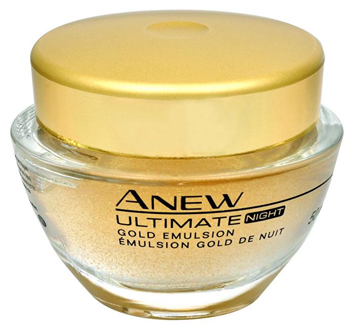 Avon Zlatá noční kúra Anew Ultimate 7S (Gold Emulsion Night) 50 ml