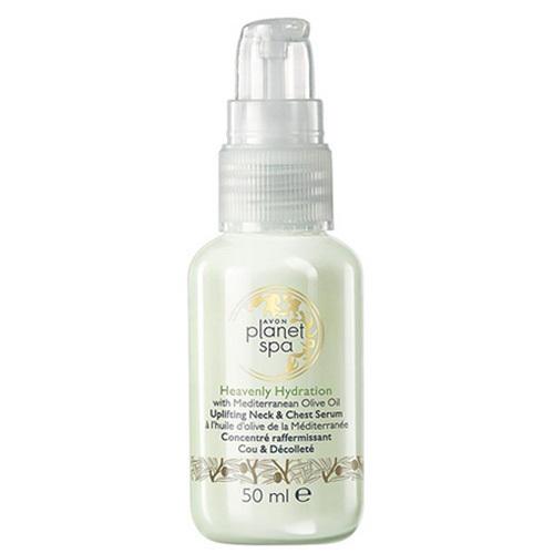 Avon Zpevňující sérum na dekolt a krk s olivovým olejem Planet Spa 50 ml