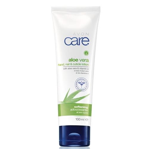 Avon Zvláčňujúci krém na ruky a nechty s aloe vera a vitamínom E Care (Hand&Nail Cuticle Lotion) 100 ml