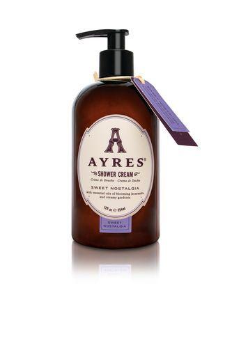 Ayres Sweet Nostalgia přírodní sprchový a koupelový krém s rostlinnými oleji 354 ml