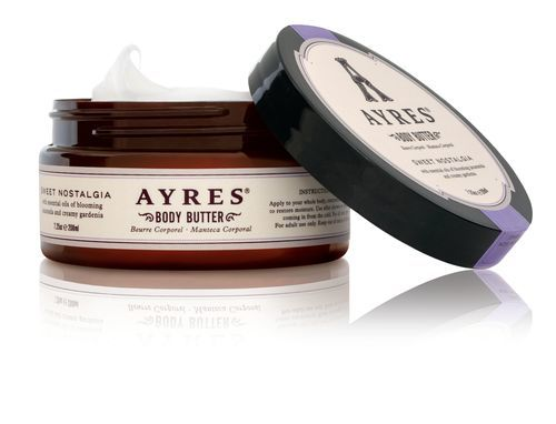 Ayres Přírodní tělové máslo na suchou pokožku s bambuckým máslem Sweet Nostalgia (Body Butter) 208 ml