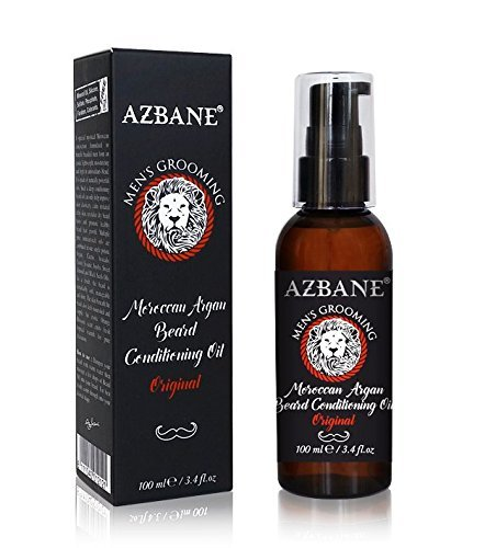 Azbane Arganový ošetrujúci olej na fúzy 100 ml