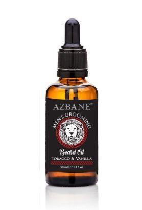 Azbane Pečující olej na vousy tabák a vanilka (Beard Oil Tobacco and Vanilla) 30 ml