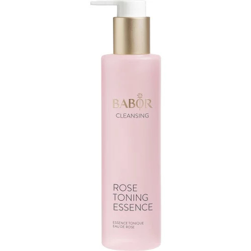 Babor Pleť ová voda bez alkoholu pre všetky typy pleti Cleansing (Rose Toning Essence) 200 ml