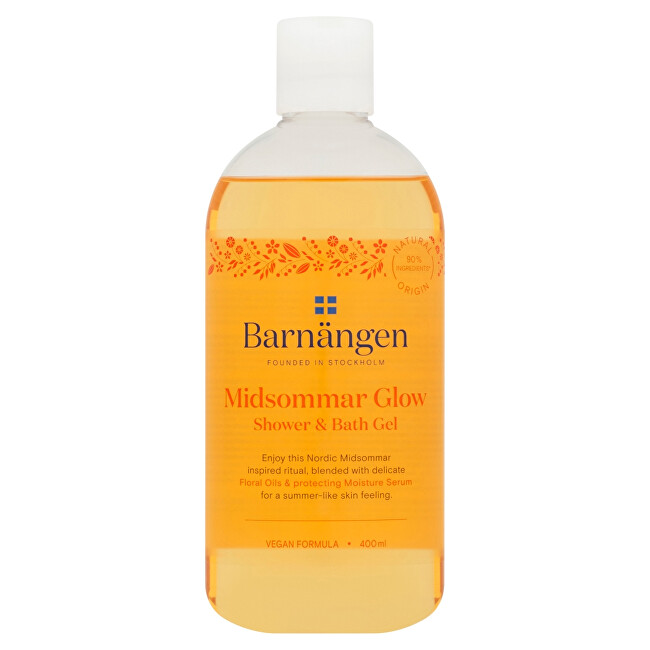 Barnängen Sprchový a koupelový gel Midsommar Glow Shower  Bath Gel 400 ml