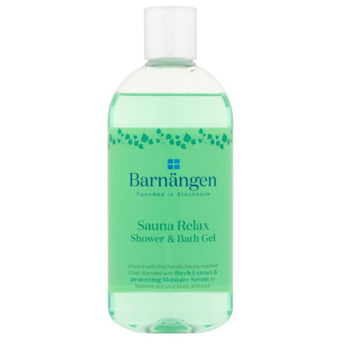 Barnängen Sprchový a koupelový gel Sauna Relax (Shower & Bath Gel) 400 ml