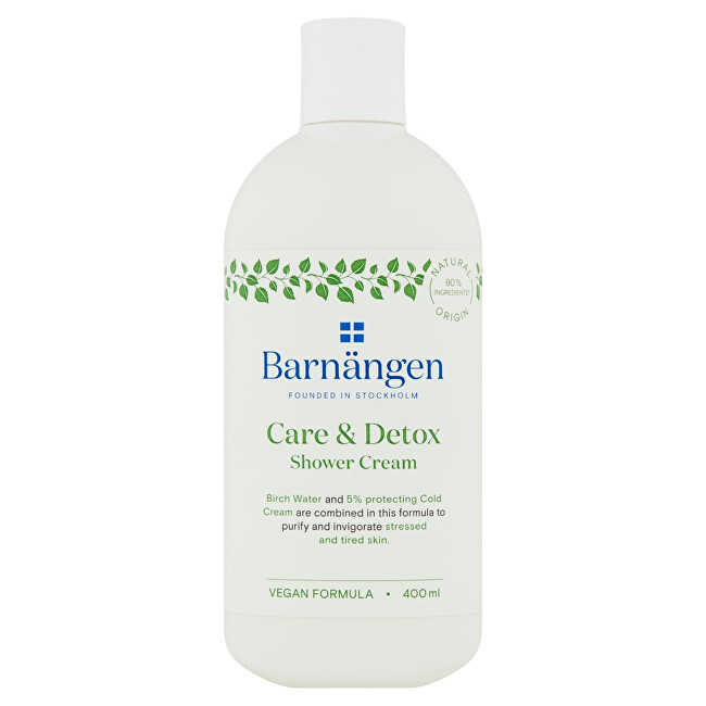 Barnängen Sprchový krém Care   Detox (Shower Cream) 400 ml