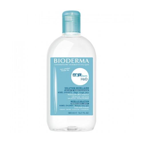 Bioderma Čisticí micelární pleťová voda H2O (Solution Micellaire) 500 ml