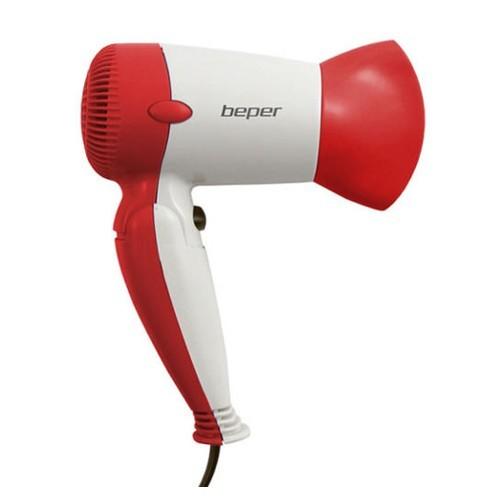 Beper Cestovní fén na vlasy 40981 - červený