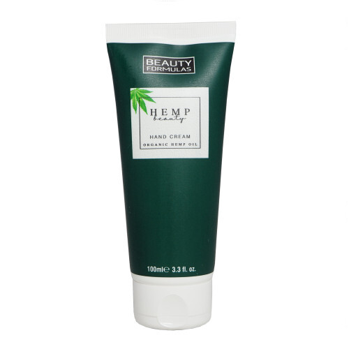 Beauty Formulas Krém na ruce s konopím Hemp Beauty Hand Cream Organic Hemp Oil 100 ml