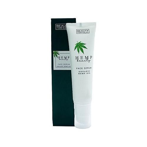 Beauty Formulas Pleť ové sérum s kanabisom Hemp Beauty (Face Serum Organic Hemp Oil) 30 ml