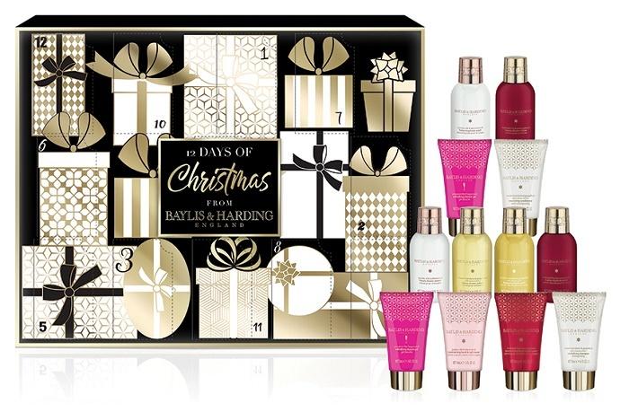 Baylis & Harding Dárková sada Adventní kalendář 12 dní (12 Days Of Christmas Gift Set)