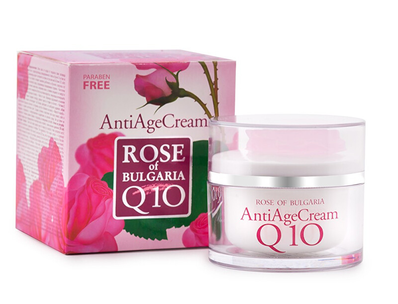 BioFresh Anti-age krém s koenzýmom Q10 a ružovou vodou Rose Of Bulgaria ( Anti Age Cream) 50 ml