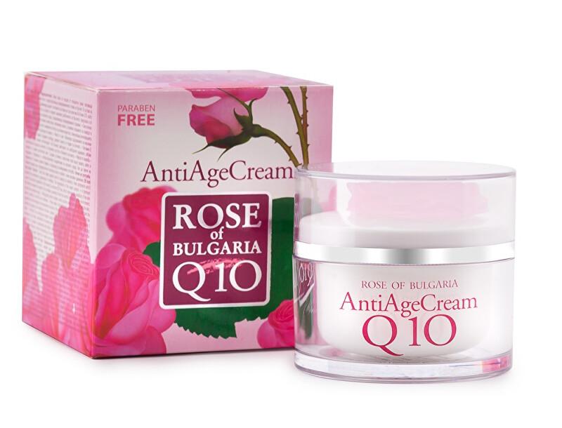 BioFresh Anti-age krém s koenzymem Q10 a růžovou vodou Rose Of Bulgaria (Anti Age Cream) 50 ml