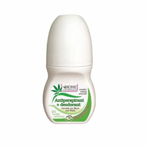 Bione Cosmetics Antiperspirant + deodorant Women zelený 80 ml