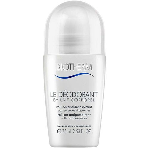 Biotherm Antiperspirant roll-on bez parabenů (Lait Corporel Le Déodorant) 75 ml