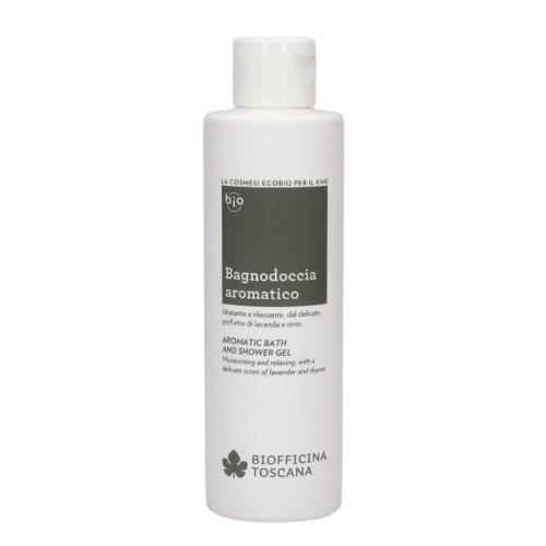 Biofficina Toscana Aromatický sprchový a koupelový gel s vůní levandule a tymiánu (Aromatic Bath & Shower Gel) 200 ml