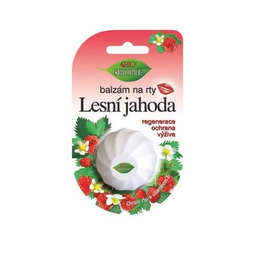 Bione Cosmetics Balzám na rty Lesní jahoda 6 ml