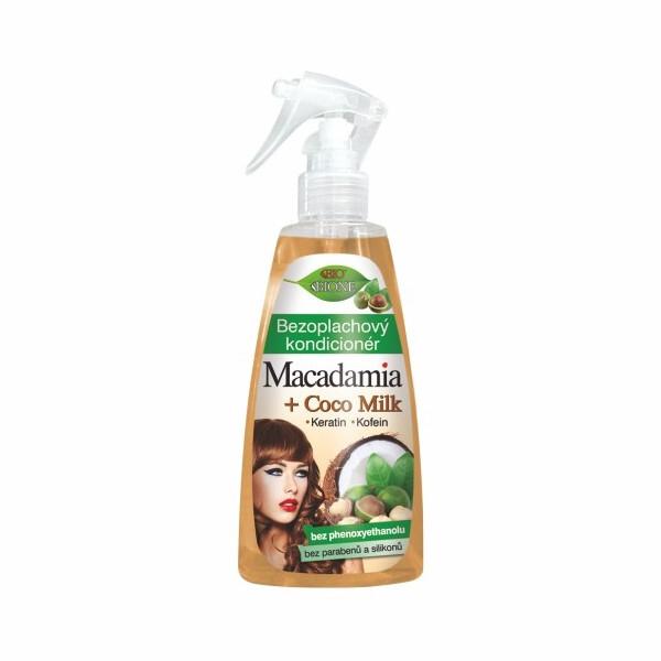 Bione Cosmetics Bezoplachový kondicionér Macadamia + Coco Milk 260 ml