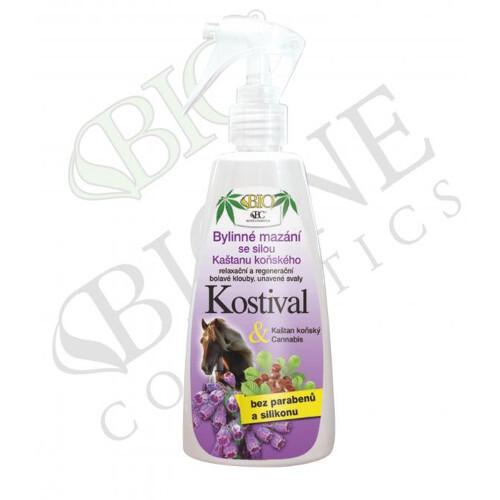 Bione Cosmetics Bylinné mazání s Kaštanem koňským a Kostivalem 260 ml - SLEVA - poškozená etiketa