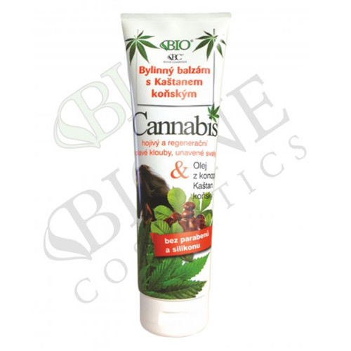 Bione Cosmetics Bylinný balzám Cannabis 300 ml