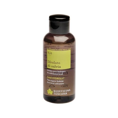 Biofficina Toscana Čistý organický šalvějový hydrolát (Sage Hydrolat) 100 ml