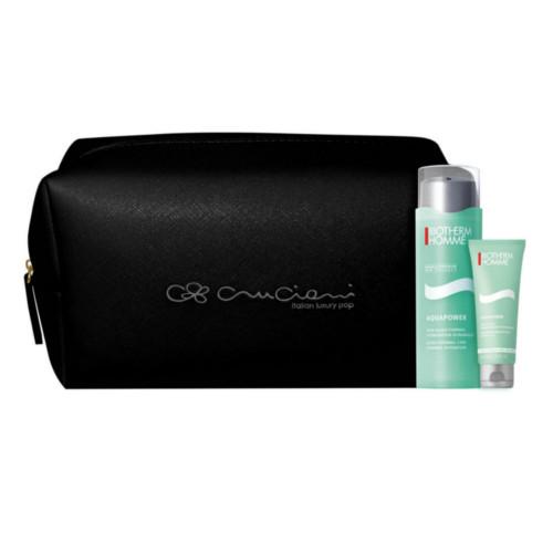 Biotherm  Aquapower hydratační krém 75 ml + sprchový gel 75 ml + kosmetická taška dárková sada