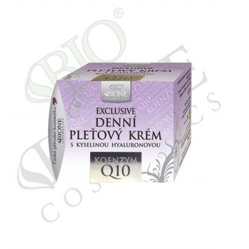 Bione Cosmetics Denní pleťový krém s kyselinou hyaluronovou Exclusive Q10 51 ml