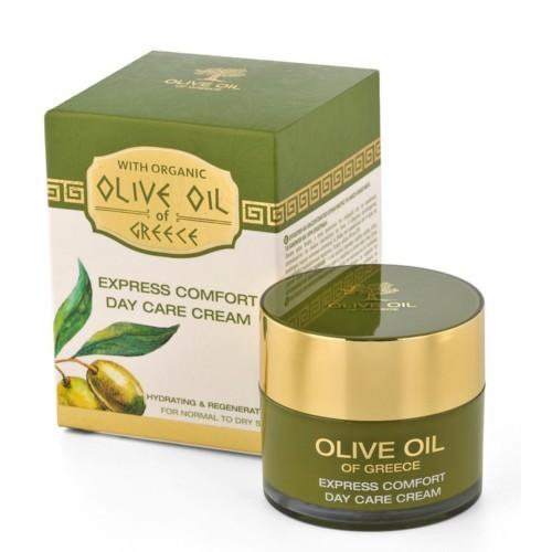 BioFresh Denní výživný krém s olivovým olejem pro normální až suchou pleť Olive Oil Of Greece (Express Comfort Day Care Cream) 50 ml