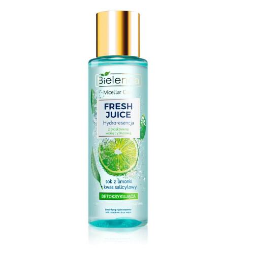 Bielenda Hydratační detoxikační esence pro smíšenou, mastnou a citlivou pleť Fresh Juice (Detoxifying Hydro-Essence) 110 ml