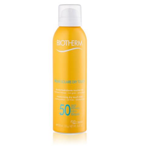 Biotherm Hydratačný hmla na opaľovanie SPF 50 (Moisturizing Dry Touch Mist) 200 ml - ZĽAVA - preliačený obal