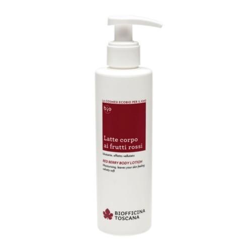 Biofficina Toscana Hydratační tělové mléko z červených bobulí (Red Berry Body Lotion) 200 ml