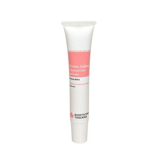 Biofficina Toscana Lahodný krém pre starostlivosť o pery so sladkou vôňou (Luscious Lip Repair Cream) 15 ml