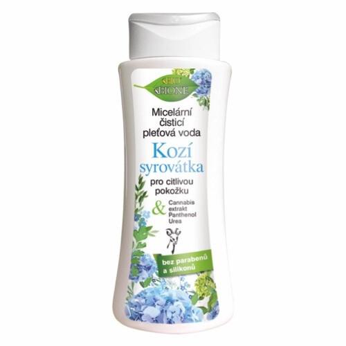 Bione Cosmetics Micelárna čistiaca pleťová voda Kozí Srvátka pre citlivú pokožku 255 ml