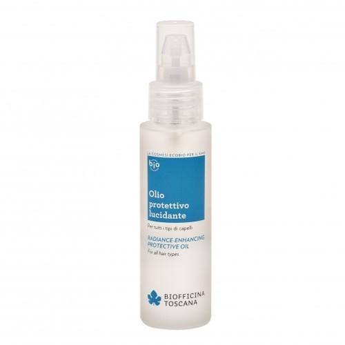 Biofficina Toscana Ochranný olej pro lesk vlasů (Radiance-Enhancing Protective Oil) 50 ml