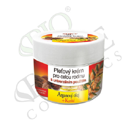Bione Cosmetics Pleťový krém pro celou rodinu Arganový olej + Karité 260 ml